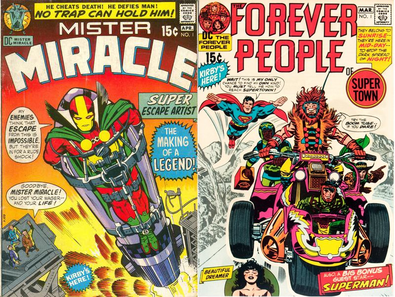 Mister Miracle Forever People 1