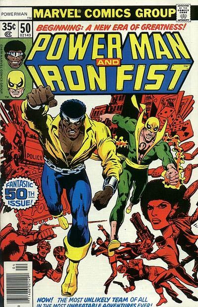 Power Man Iron Fist 50