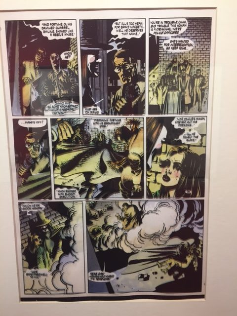 V For Vendetta David Lloyd Pg 12