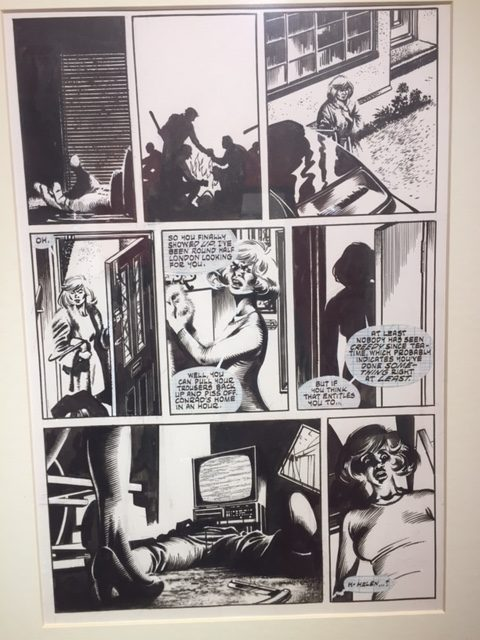 V For Vendetta David Lloyd Pg 255