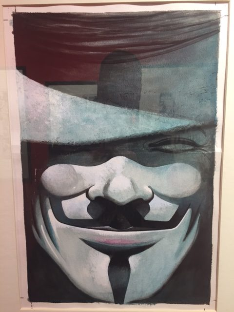 V For Vendetta cover David Lloyd