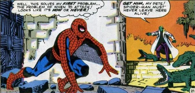 Spider-Man 6 Lizard Stan Lee Steve Ditko