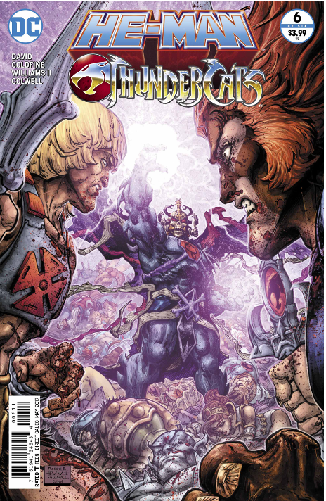 He-Man Thundercats 6 cover review