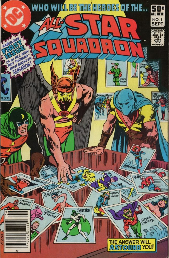 All-Star Squadron 1 cover Rich Buckler Dick Giordano