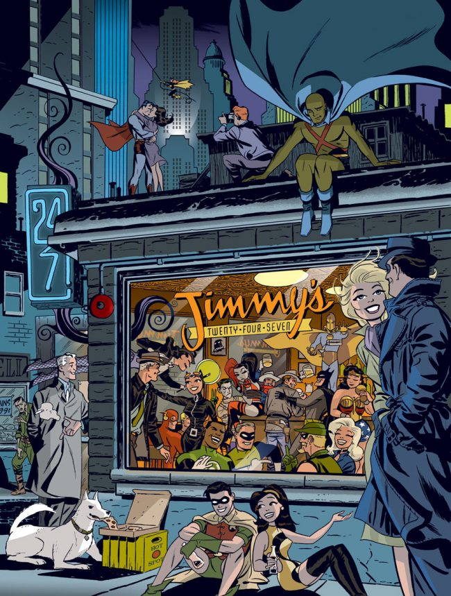 Darwyn Cooke Graphic Ink cover