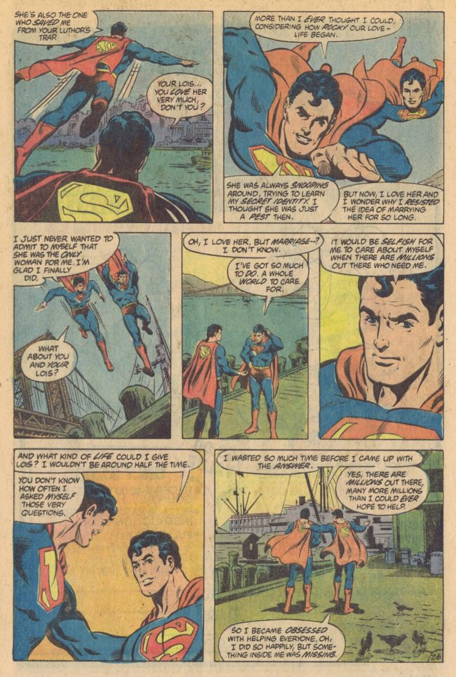 DC Comics Presents Annual 1 page 24 Superman Marv Wolfman Rich Buckler