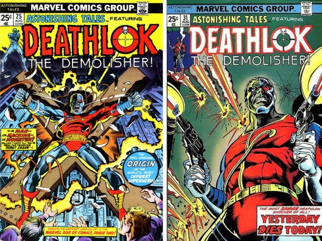 Deathlok covers Rich Buckler
