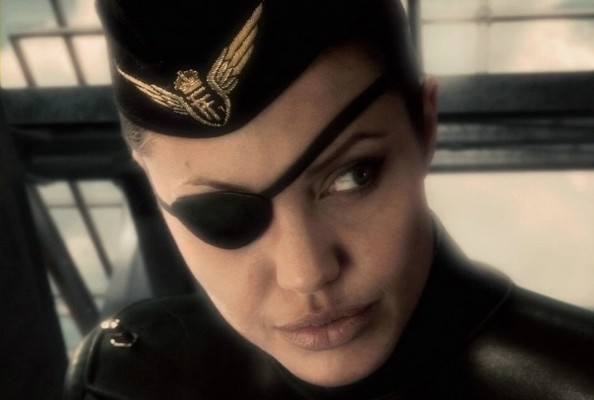 Angelina Jolie in 'Sky Captain'.