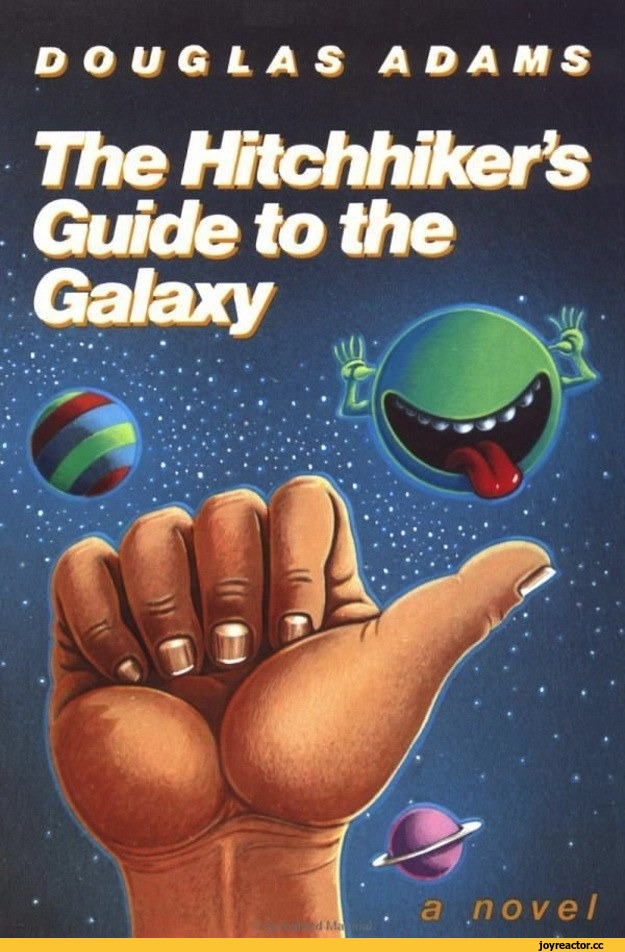 Hitchhiker's Guide to the Galaxy: the paperback.