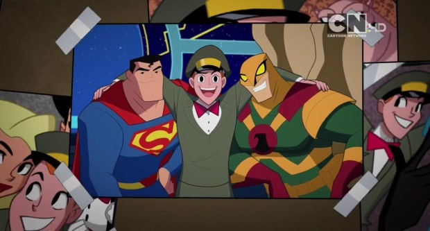 Justice League Action Space Cabby Cartoon Network TV