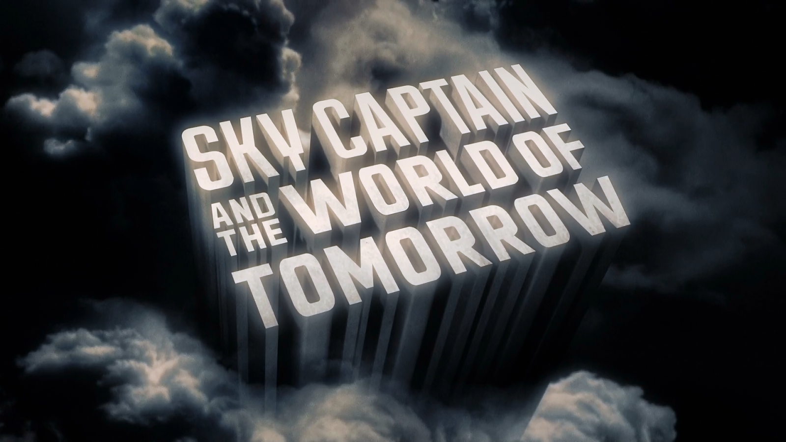Sky Captain and the World of Tomorrow title screen