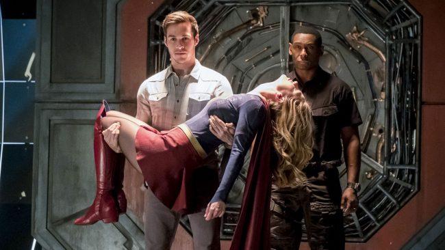 Supergirl Mon-El CW TV