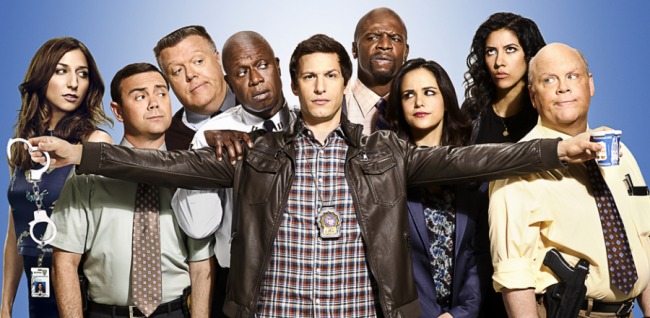 Brooklyn Nine-Nine cast Fox TV