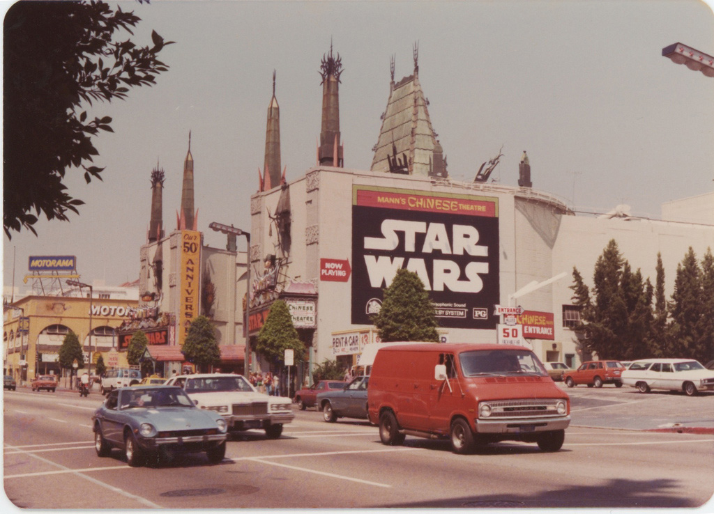 Mann's Chinese Theater, 1977.