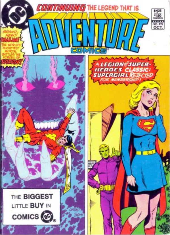 Adventure Comics DC digest cover