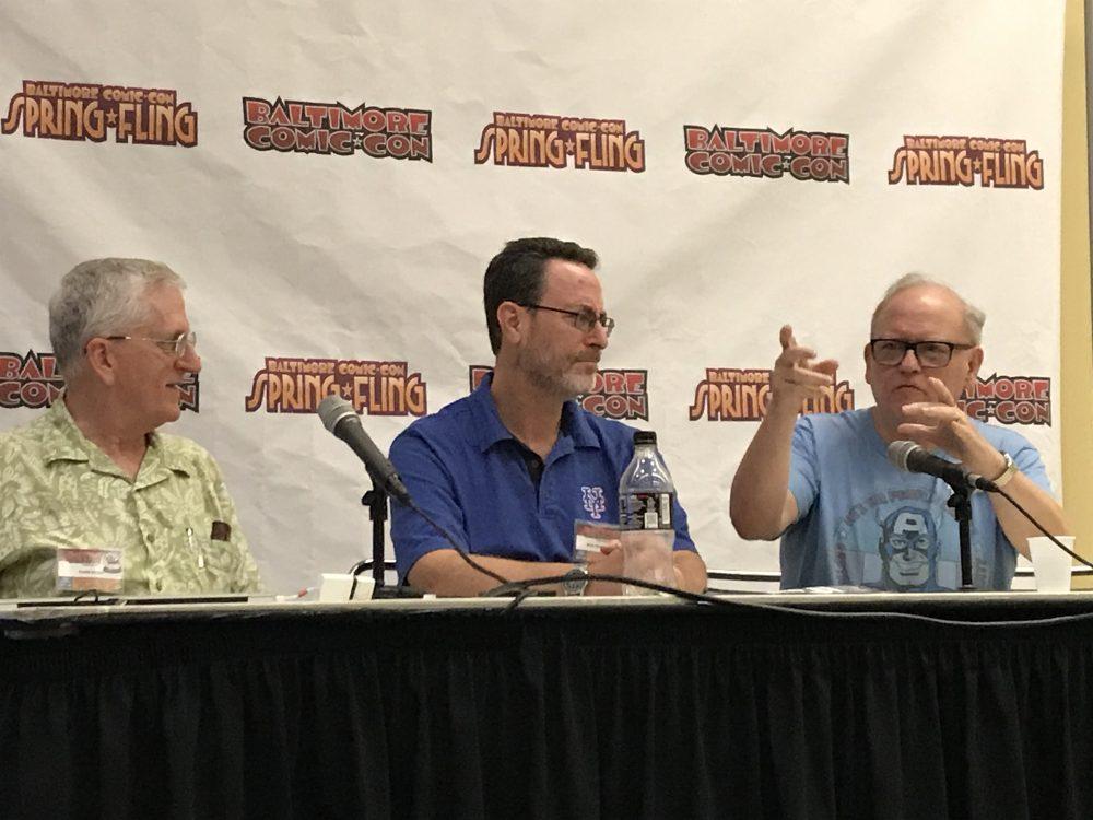 Todd Klein Robert Greenberger John Workman Baltimore Comic Con 2017