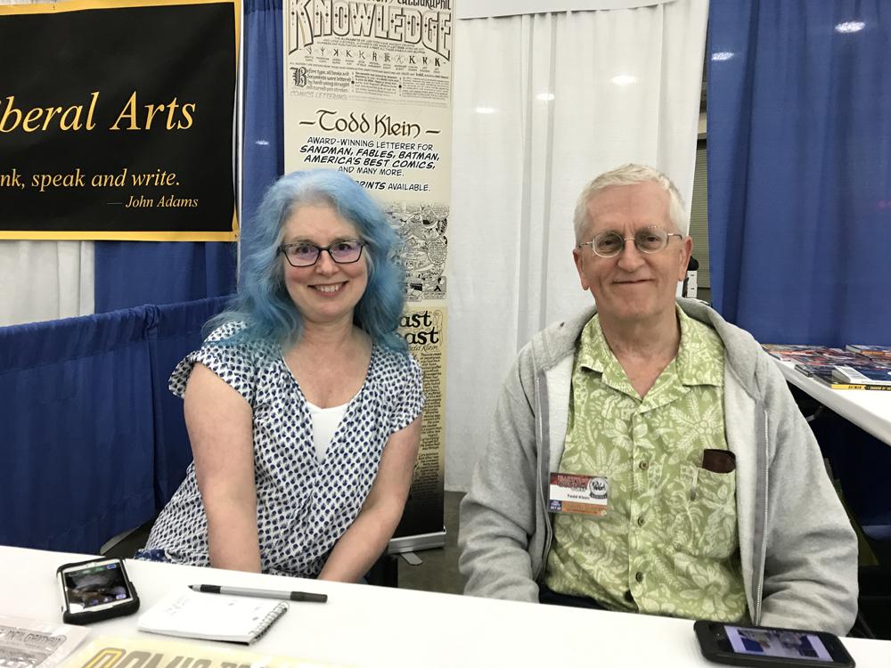 Todd Klein Baltimore Comic Con 2017