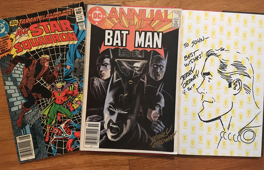 Jerry Ordway signatures