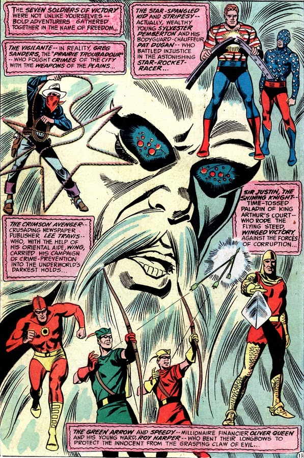 JLA Seven Soldiers of Victory