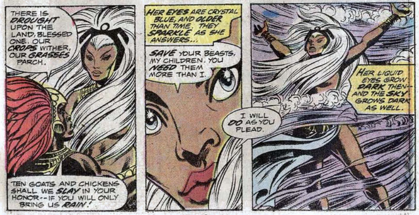 Storm Giant-Sized X-Men