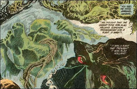 Swamp Thing Anatomy Lesson