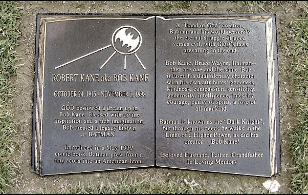Bob Kane grave
