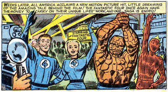 Fantastic Four 9 Kirby