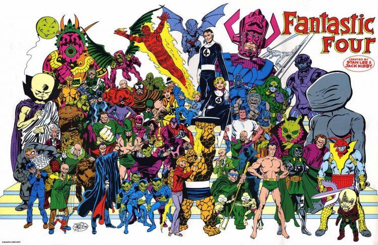 Fantastic Four poster John Byrne