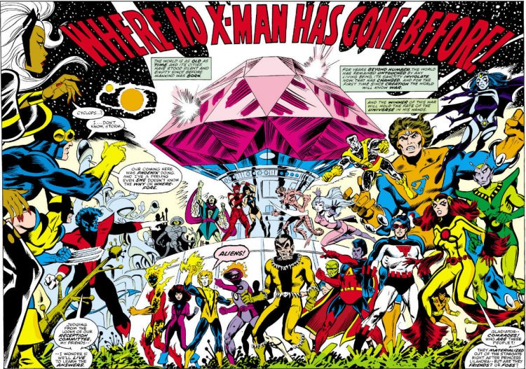 Imperial Guard X-Men Legion of Super-Heroes