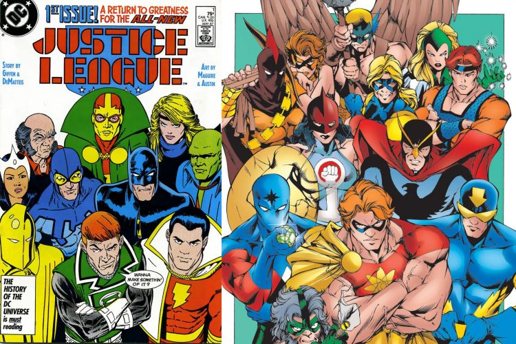 Justice League Squadron Supreme