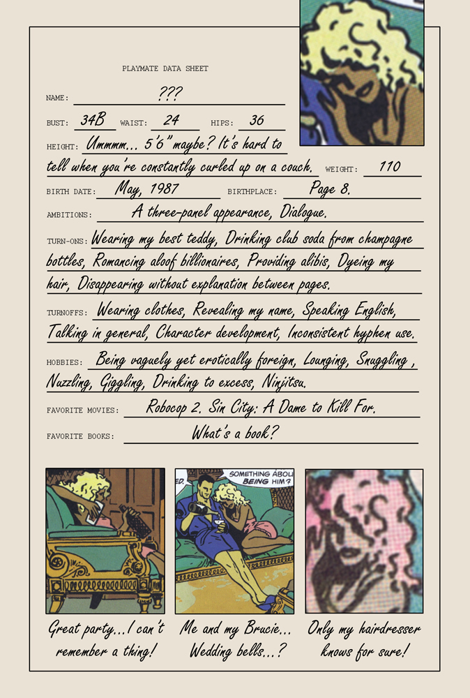 Batman Year One Playmate Data Sheet Atomic Junk Shop