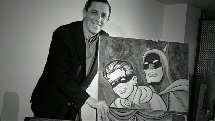 Bob Kane painting