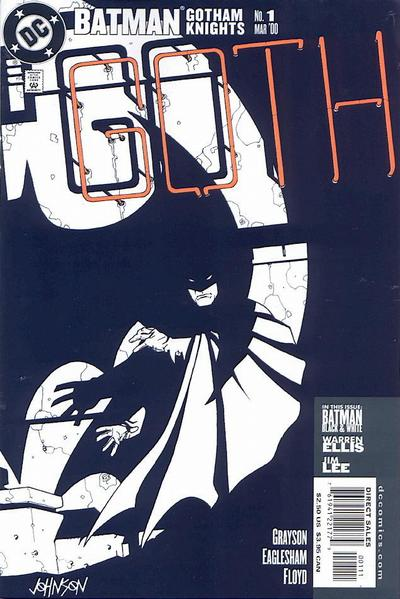 Batman Gotham Knights cover