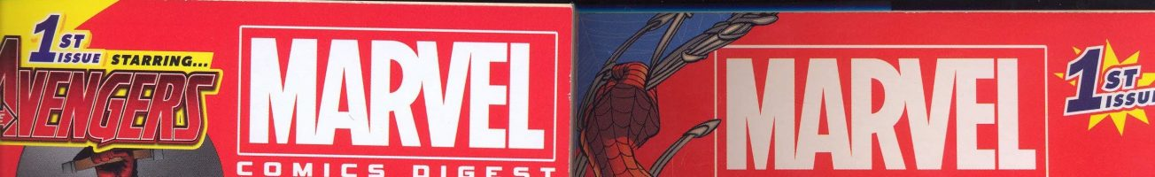 Marvel digests: about 40-odd years too late