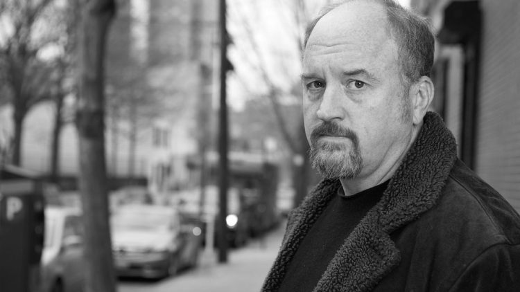 Louis CK Black and White
