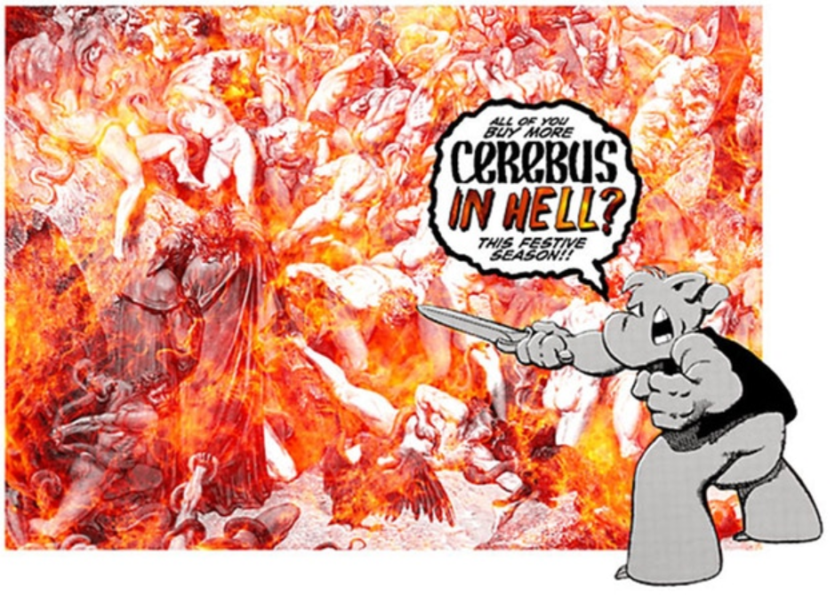 spend money Cerebus