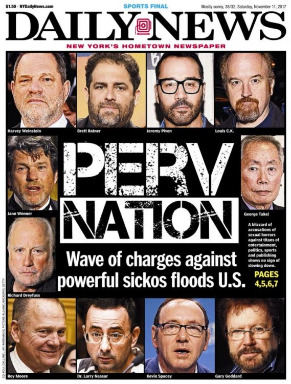 New York Daily News Perv Nation