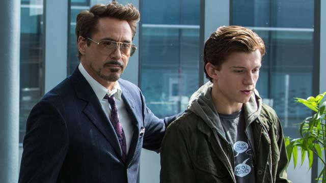Spider-Man Homecoming Robert Downey Jr. Tom Holland