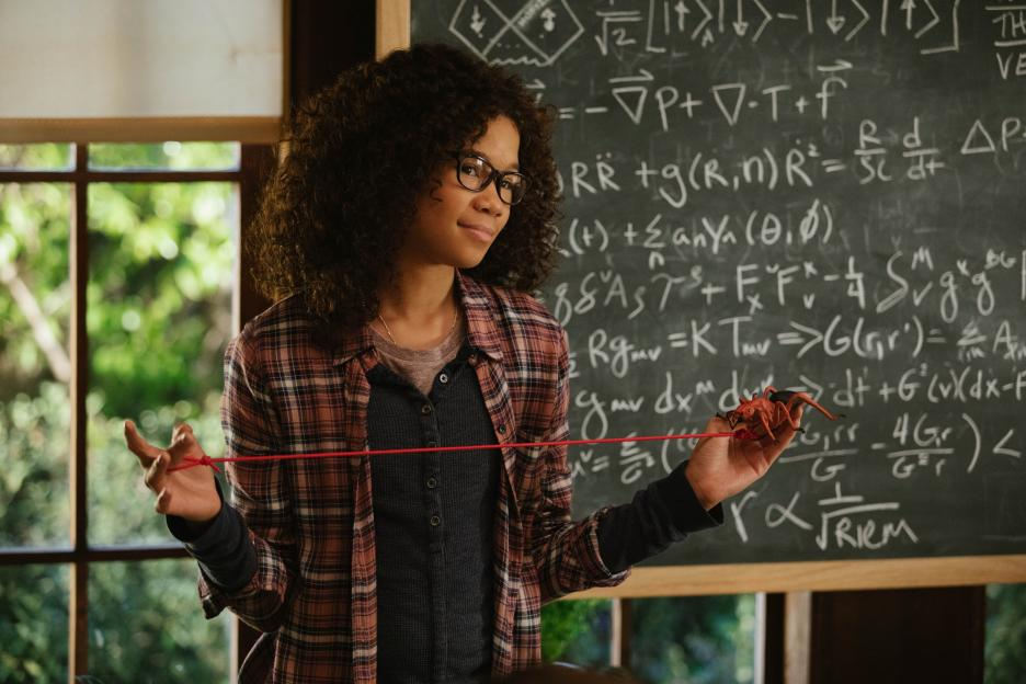 Storm Reid as Meg Murry in 'A Wrinkle in Time'.