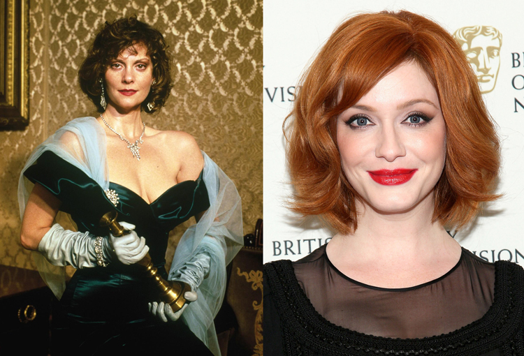 Christina Hendricks Miss Scarlet Clue Atomic Junk Shop