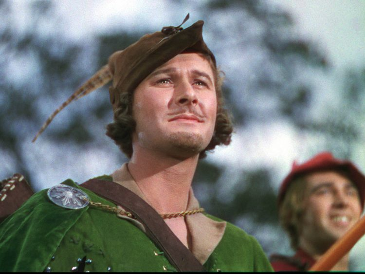 Errol Flynn Robin Hood Atomic Junk Shop