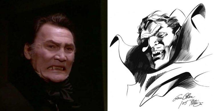 Jack Palance Dracula Gene Colan Bob McCleod Atomic Junk Shop