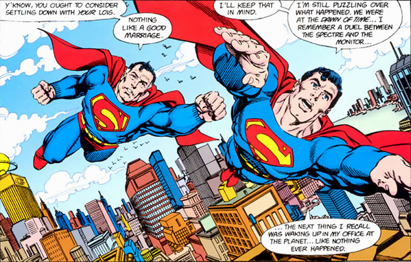 George Perez Superman Crisis Atomic Junk Shop