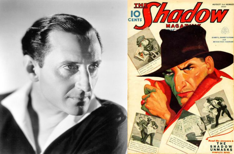 Basil rathbone The Shadow Atomic Junk Shop