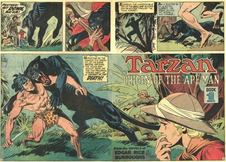Joe Kubert Tarzan Atomic Junk Shop