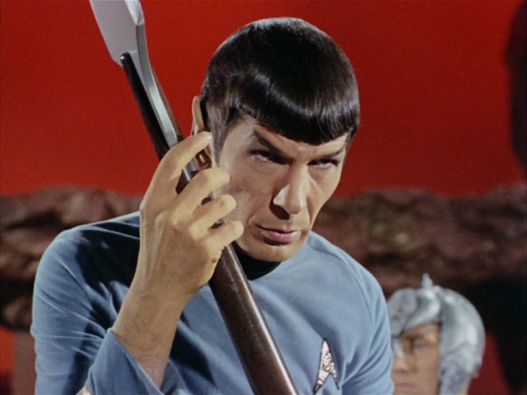 Amok Time Star Trek Spock Pon Farr TOS Atomic Junk Shop