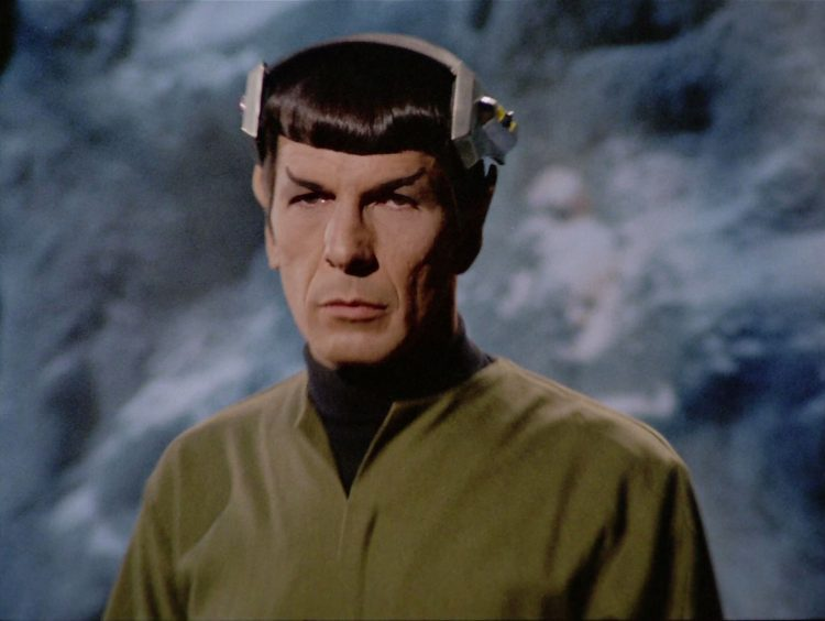 Star Trek TOS Spock's Brain Atomic Junk Shop
