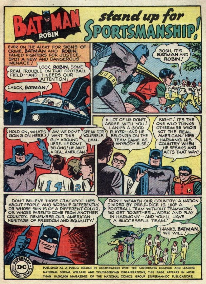 Batman Sportsmanship Atomic Junk Shop