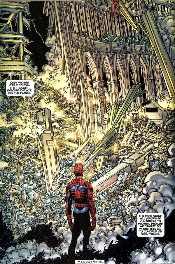 Spider-Man 36 9/11 Atomic Junk Shop