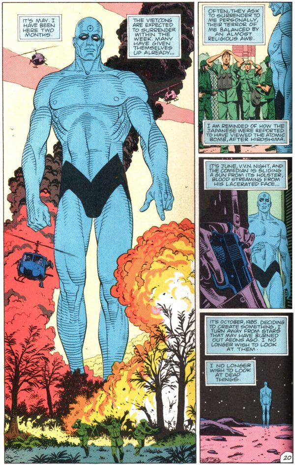 Watchmen Dr. Manhattan Vietnam Atomic Junk Shop